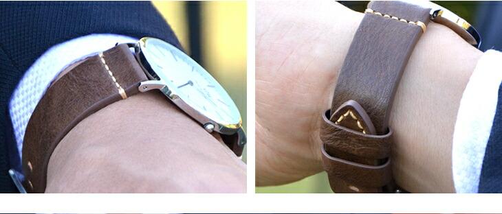 カシス製時計ベルトウブドイメージ02