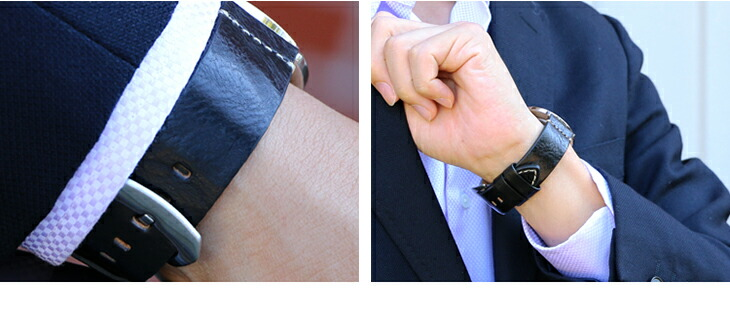 カシス製時計ベルトウブドイメージ04
