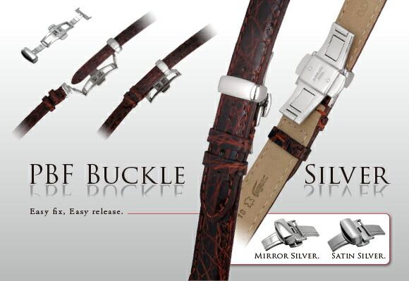 カシス製腕時計用バックルPBFバックルシルバー