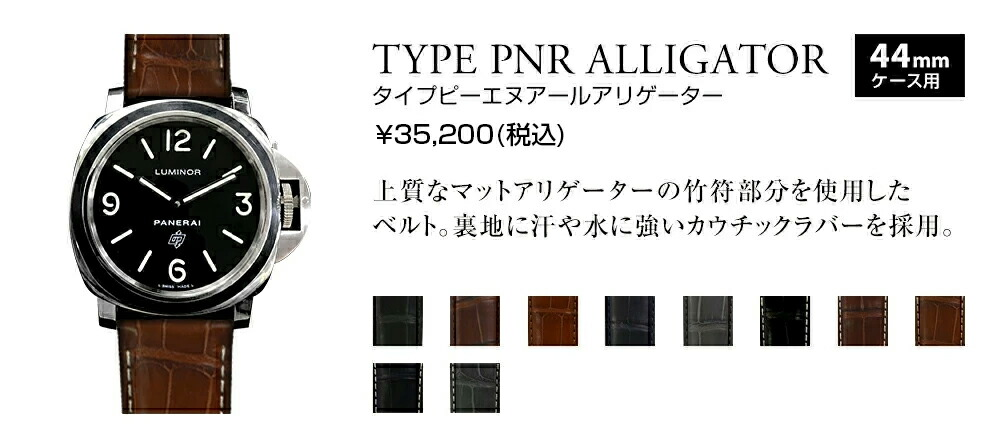 TYPE PNR ALLIGATOR