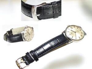 時計ベルトをモレラートのルイジアナに交換したOMEGA Seamaster