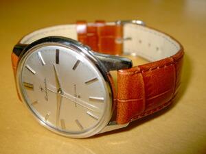 時計ベルトをモレラートのルイジアナに交換したセイコーマチック