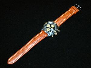 時計ベルトをモレラートのティポブライトリングクオイオに交換したブライトリング クロノ コックピット