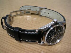 時計ベルトバックルをモレラートのDEPLOJANTE/2に交換したROLEX TUDOR OYSTERDATE