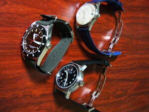時計ベルトバックルをモレラートのDEPLOJANTE/2に交換したORIS/TISSOT/ORIENTSTAR