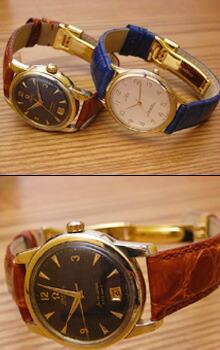 時計ベルトをモレラートのAMADEUSとLOUISIANEとDEPLOJANTE/3に交換したOMEGA SEAMASTER CALENDARとCTIZEN LAMER