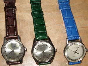 時計ベルトをモレラートのルイジアナに交換したSeiko Sportsman