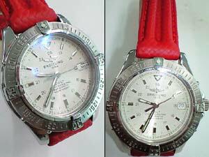 時計ベルトをモレラートのプラスに交換したブライトリング コルト オートマチック