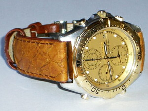 時計ベルトバックルをモレラートのDEPLOJANTE/2に交換したセイコークロノグラフスポーツ