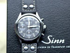 時計ベルトをモレラートのアンコラに交換したSinn 356フリーガー