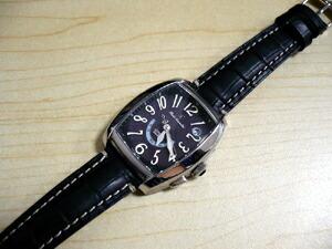時計ベルトをモレラートのRENOIRに交換したCITIZEN XC Eco-Drive 電波時計
