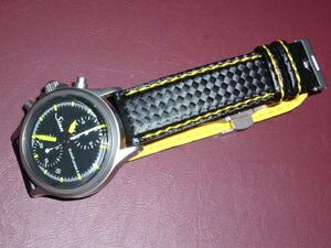時計ベルトをモレラートのバイキングに交換したSinn 356 Euroflieger �U