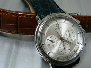 ���v�x���g���������[�g�̃��C�W�A�i�Ɍ�������OMEGA De Ville Prestige Chronograph