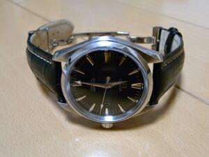 時計ベルトをモレラートのプラスに交換したオメガ シーマスターアクアテラ