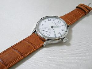 時計ベルトをモレラートのBOLLEに交換したエベラール トラベルセトロ ヴィトレ