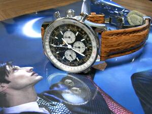 時計ベルトをモレラートのオンタリオに交換したSinn 903 Klassik