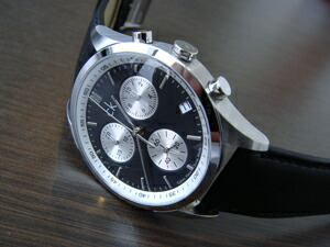 時計ベルトをモレラートのGRAFICに交換したck Calvin Klein Watches - Bold ExtensionR