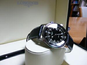 時計ベルトをモレラートのバイキングに交換したロンジンレジェンドダイバー(デイト)
