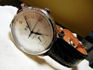 時計ベルトをモレラートのSHUBERTに交換したBAUME&MERCIER CLASSIMA EXECUTIVES