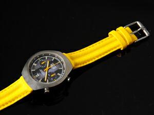 時計ベルトをモレラートのスピードに交換したタグホイヤーカレラクロノ
