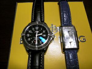 時計ベルトをモレラートのプラスに交換したブライトリング スーパーオーシャンプロフェッショナル