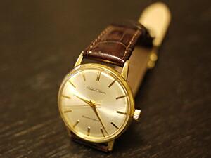 時計ベルトをモレラートのルイジアナに交換したSEIKO CROWN