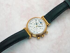 時計ベルトをモレラートのコローに交換したタグ・ホイヤーエドワード・ホイヤー125th記念モデル