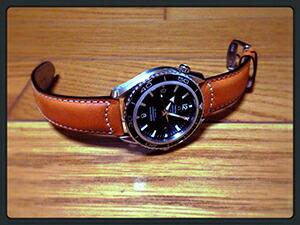 時計ベルトをモレラートのセザンヌに交換したオメガ シーマスタープラネットオーシャン2200.50