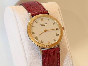 時計ベルトをモレラートのボルテラに交換したLongines