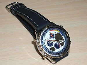 時計ベルトをディモデルのJUMBO(ジャンボ) に交換したシチズンプロマスター ナビサーフ