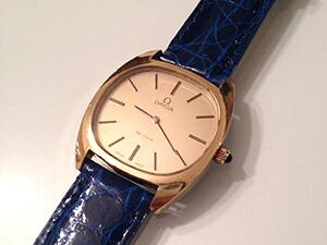 時計ベルトをモレラートのアマデウスに交換したオメガ デ・ヴィル