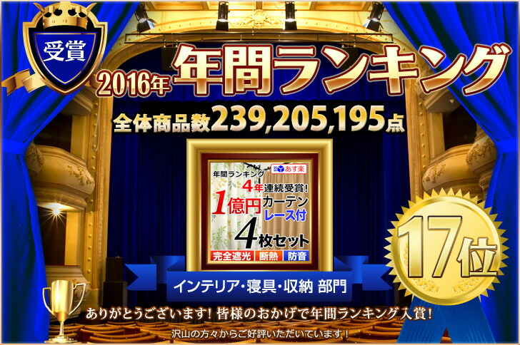 17位入賞 楽天上半期ランキング