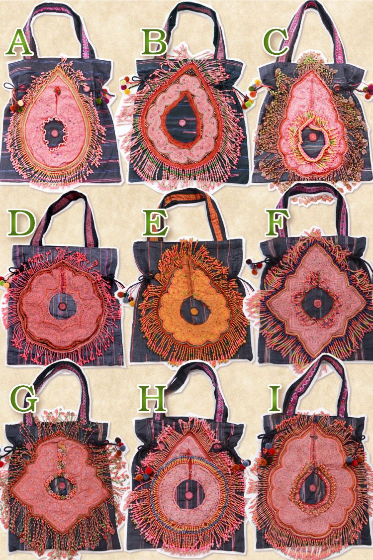 苗族刺绣-バッグレディースモン族刺綉和ビーズし,并且りん手工制图片