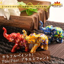 Colorful painting elephant elephant figurine! Pao! Pao! @D0303 | figurines and other | fs3gm
