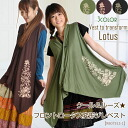 @T0202 Asian fashion ethnic fashion Asian gadgets Asian clothing layered look sleeveless Cardigan vest Thailand cloak flower Lotus Lotus varying type transform | best other | n_marai 10P12Oct14