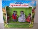 Silva near UK otter family