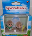 UK sylvanian families UK monkey twins-CHAN