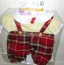 40 child collection dream this long sleeves blouse & checked pattern pants of the dream