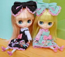 """9/2014 12, released"" Blythe shop limited doll Connie Conil & Ivanka-Conil set"