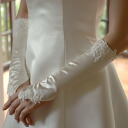 Decorate the wedding globe サテンフィンガーレス globe handy wedding item elbow down (30 cm)