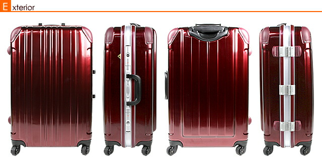 世界のトップブランド、エース、busyman、エフキカク、プロテカ、サムソナイト、グリフィンランド、サンコーのスーツケースと比べても見劣りしません。