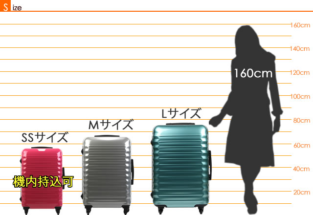 �����ĥ����� ���������߲� �����Хå� �����Хå� ���������� �����Ĥ����� suitcase carrybag �͵� ι�Գ� �ޥå�������ӥ� ���� TSA��å� ����ߥե졼�� ���� SS M L������:001