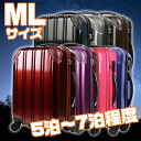 """Hardware case """"5007-66"""" for for sale target deep-discount suitcase carrier bag carry case carry-back traveling bag super light weight TSA lock medium size ML size five days for six days on 7th in a day"""