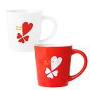心打印杯子杯/情人节白色情人节礼物礼品 fs04gm图片