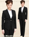 Trouser suit! ※A suit worn for a job interview or important occasion! Deep-discount lady's trouser suit! How about to a job hunting fresh suit uniform? TP24562
