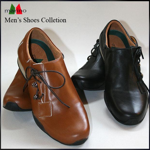本革メンズシューズ紳士靴 写真を拡大する