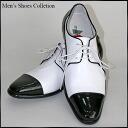 ★★Monochrome combination four circle shoes width: 2E-3E heel 3cm24cm - 27.5cm string shoes N82