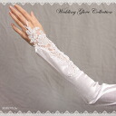 ★ ★ Satin (Grove), nail gloves, gauntlets, finger no finger protection gloves, satin gloves, サテング robes, Bridal, wedding, cosplay, and without gloves, finger gloves m-03-50