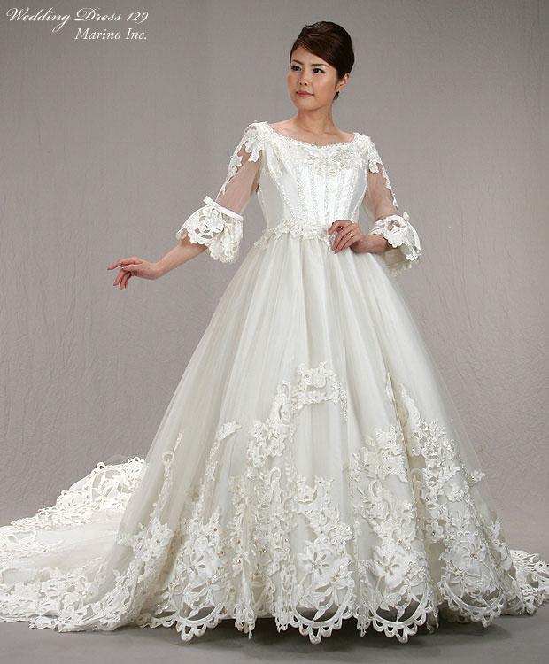 marino - Rakuten Global Market: A dress rental of the wedding ...