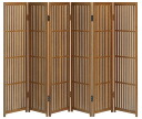 Akita Cedar lattice screen modern folding screen song 6